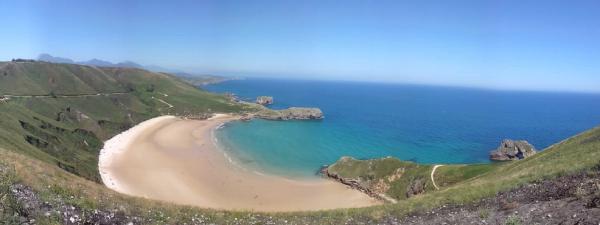 Las mejores playas del Cantabrico Playa Torimbia