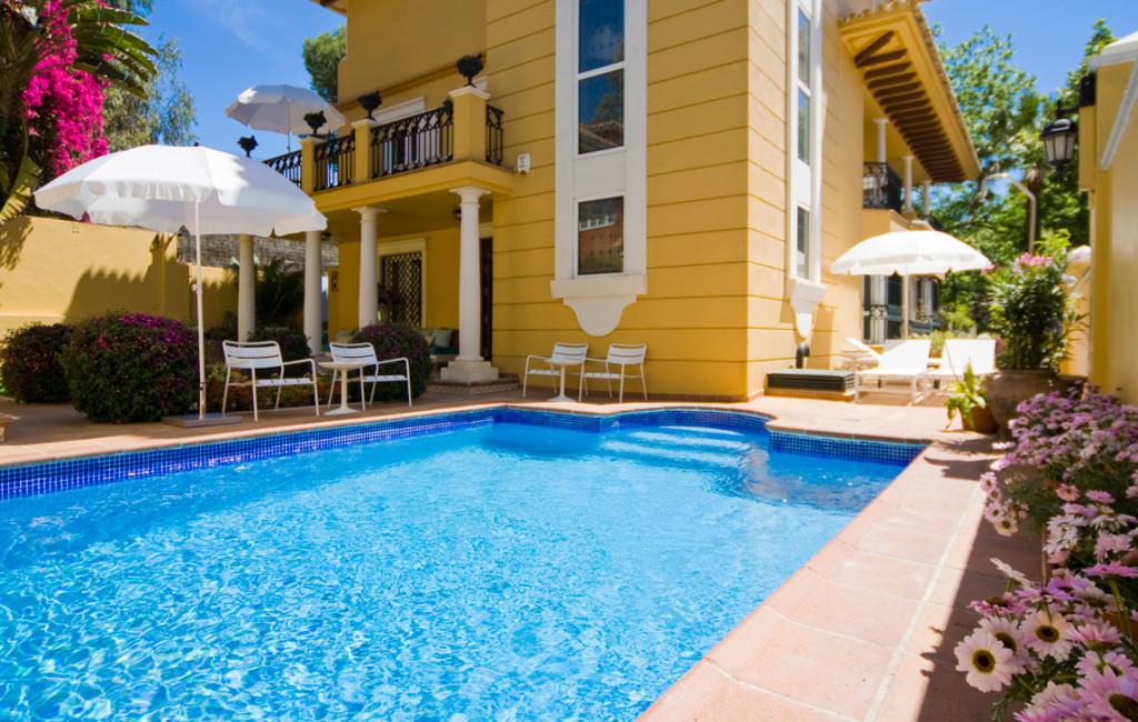 Hotel con encanto en Malaga Villa Lorena