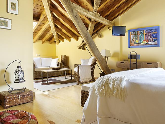 hotel con encanto la casona del viajante habitacion 2