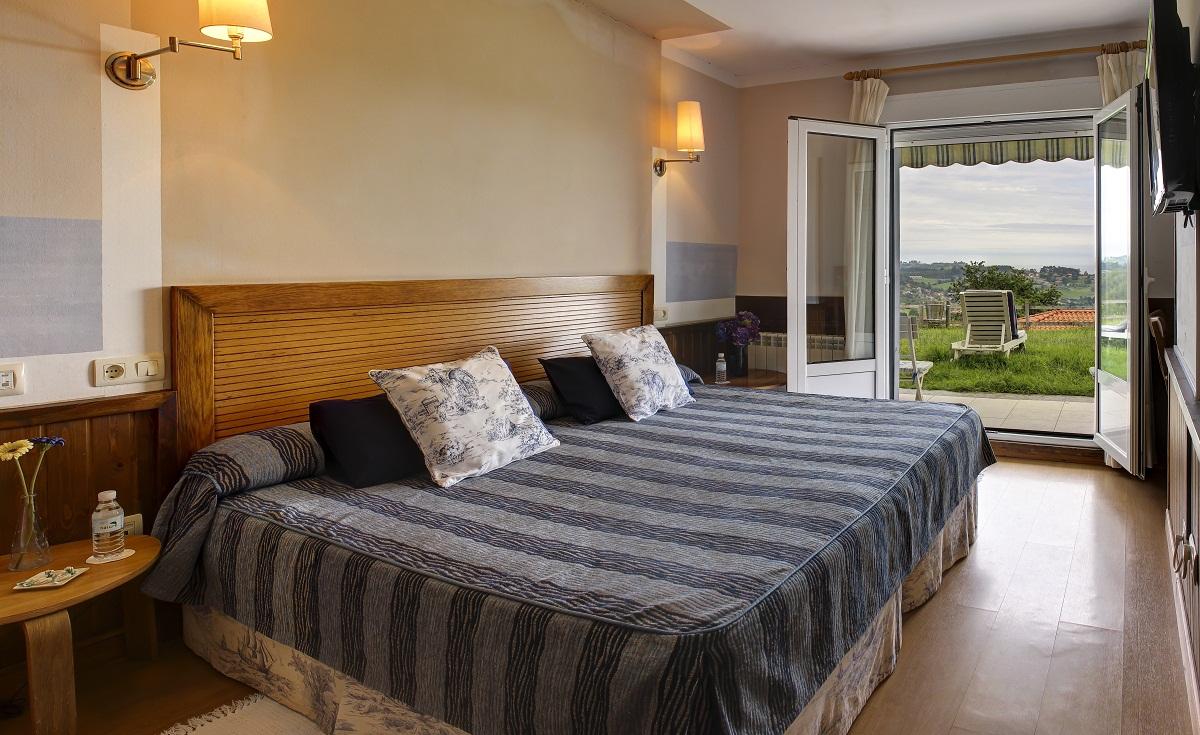 HOTEL CON ENCANTO EN RIBADESELLA MIRADOR DEL SELLA habitacion
