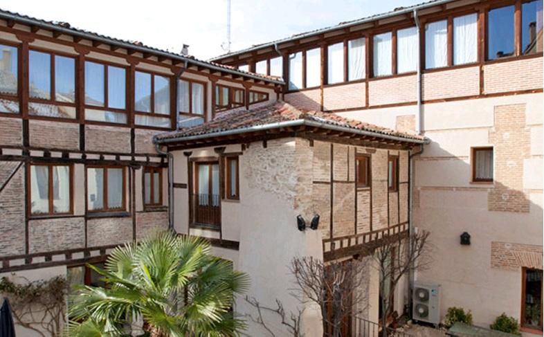 HOTEL CON ENCANTO EN SEGOVIA PALACIO AYALA BERGANZA
