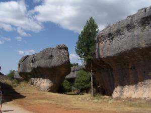 Ciudad encantada y hoteles con encanto en Cuenca