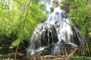 casacadas parque natural del monasterio de piedra