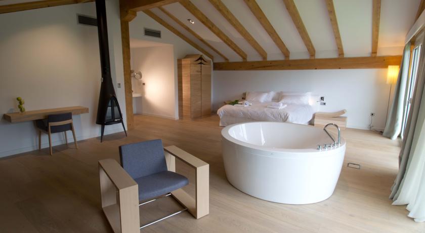 hoteles con bañeras romanticas arantza