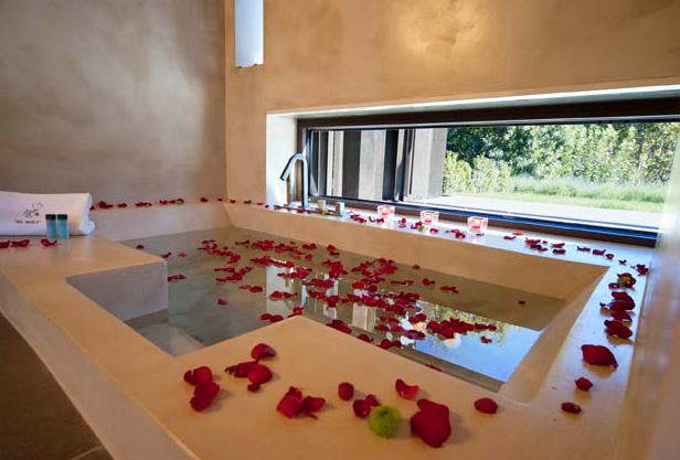 hoteles con bañeras romanticas moli