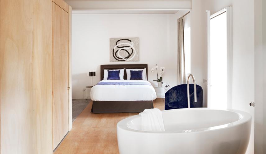 hoteles con bañeras romanticas torre art box
