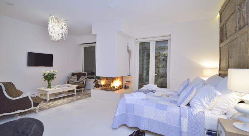 Habitaciones románticas con chimenea