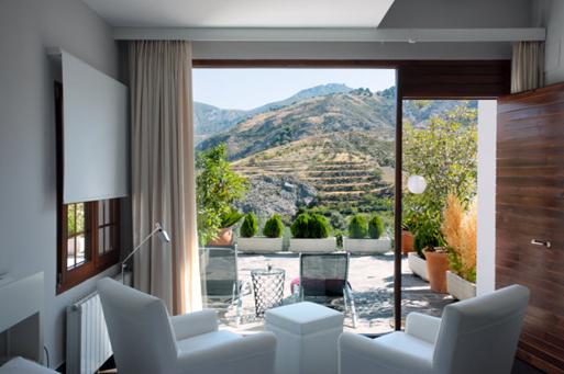 Hotel con encanto cerca de sierra nevada la almunia del valle exterior