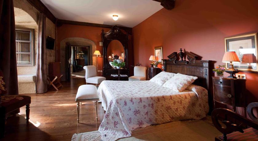 hotel rural con encanto PAZO DE BENTRACES HABITACION
