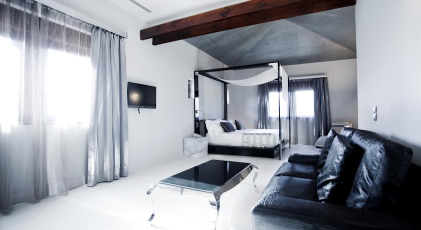 hotel con cama dosel hacienda de nevada