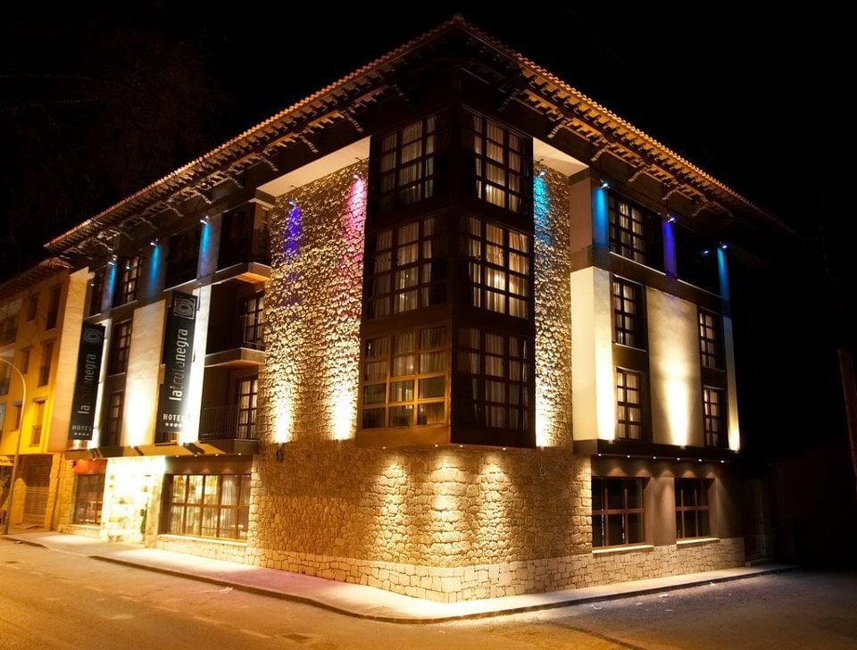 hotel con spa cerca de estaciones de esquí la trufa negra spa