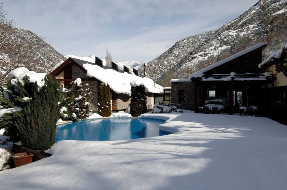 hotel con spa cerca de estaciones de esquí riberies