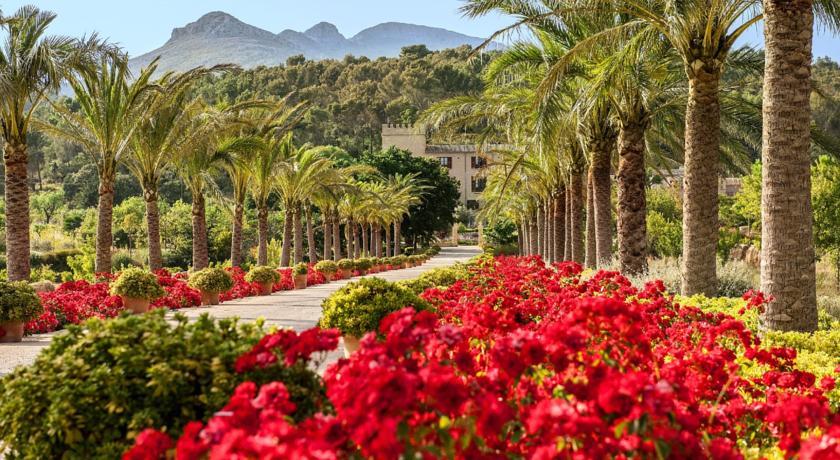 Hoteles con encanto con jardín castell