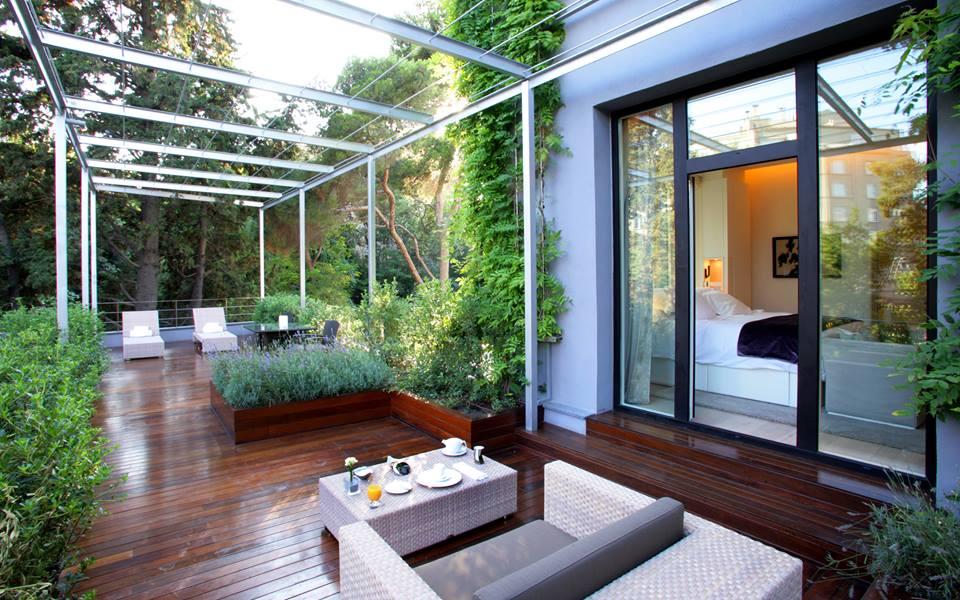Tu Escapada Deluxe Hoteles Con Habitaciones Con Jacuzzi Exterior - Jacuzzi-exterior-terraza