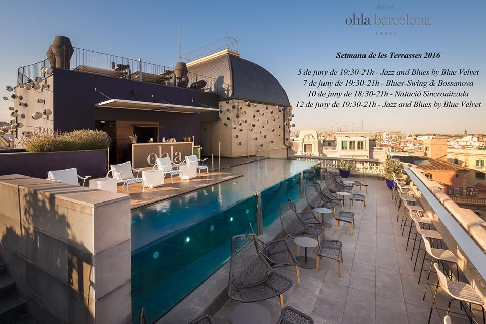 ohla semana terrazas en barcelona