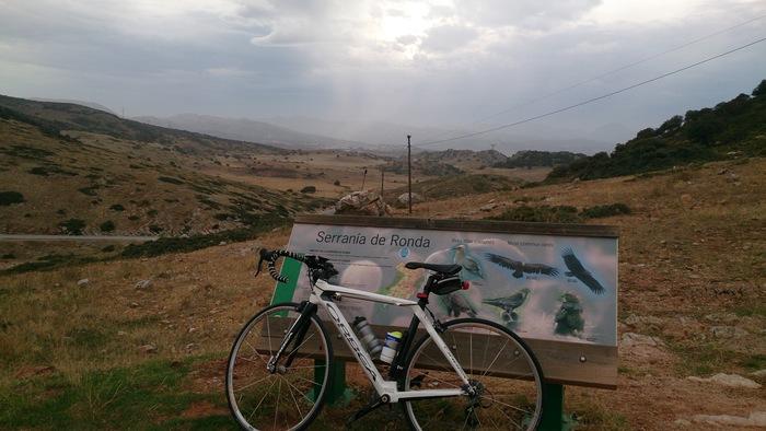 Ruta fin de semana en bicicleta ronda