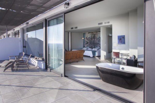 Hoteles con bañera de diseño
