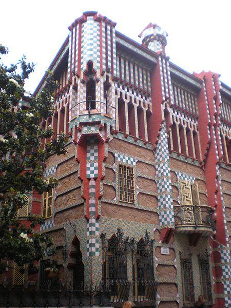 casa vicens ruta modernista barcelona