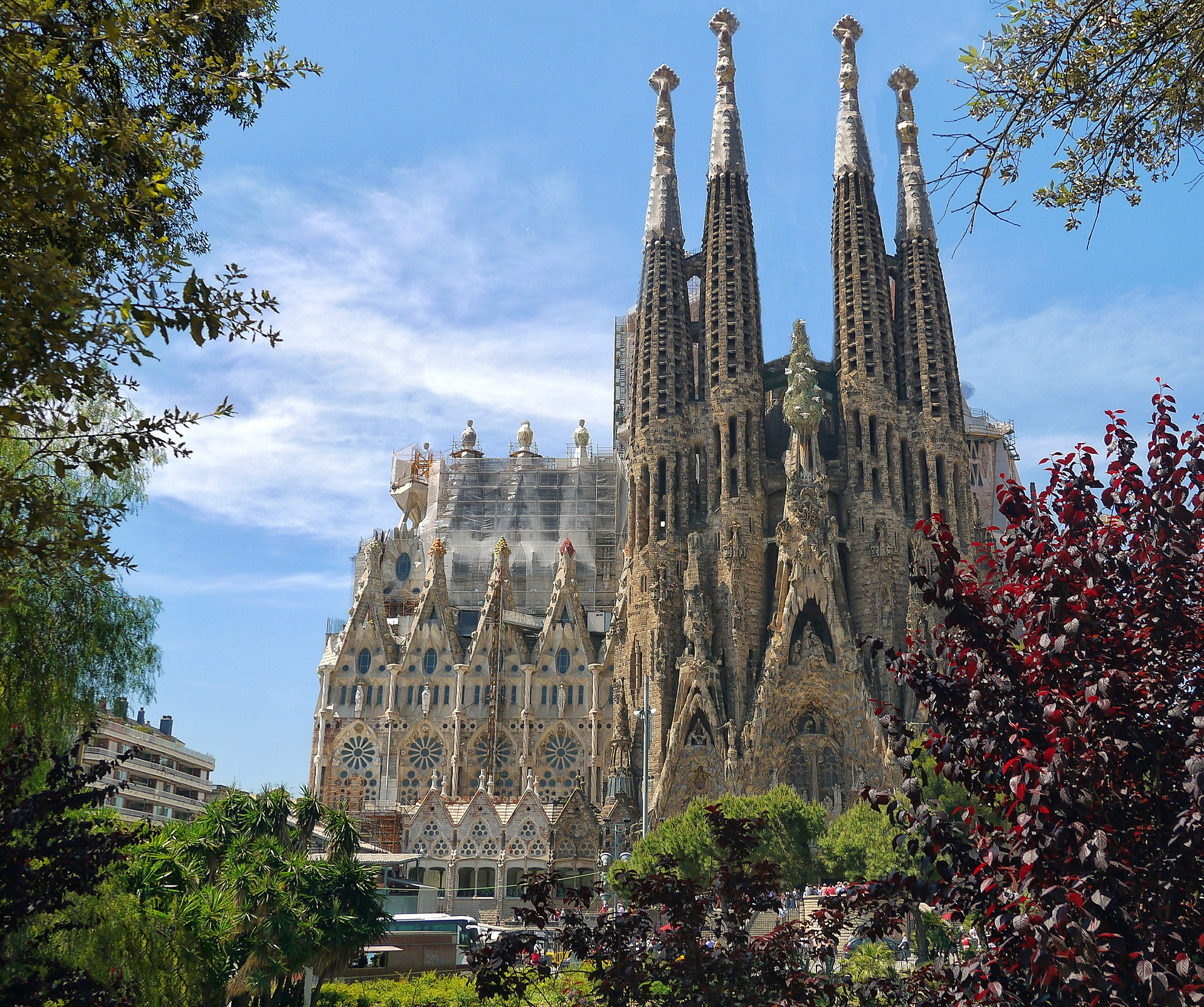 ruta barcelona sagrada familia