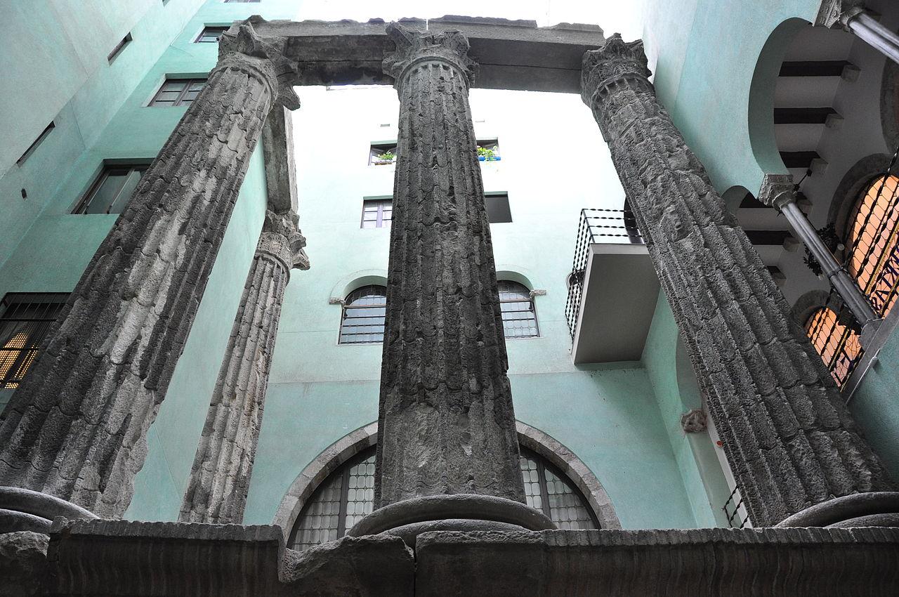 templo de augusto barcelona