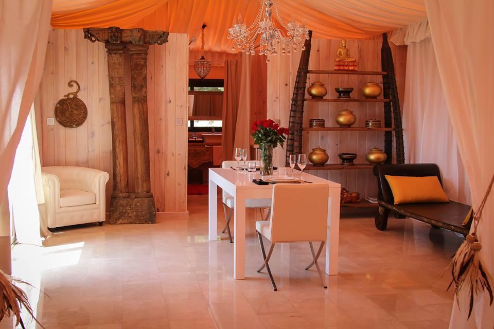 maharaja hotel con piscina privada room