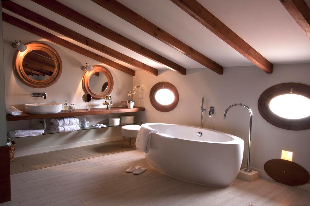 habitaciones romantica invierno menorca bañera