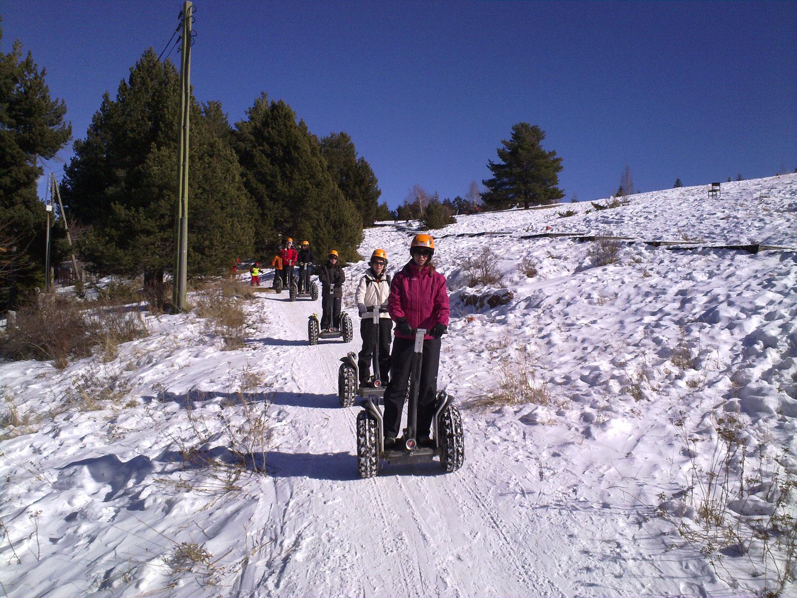 Especial Actividades Nieve