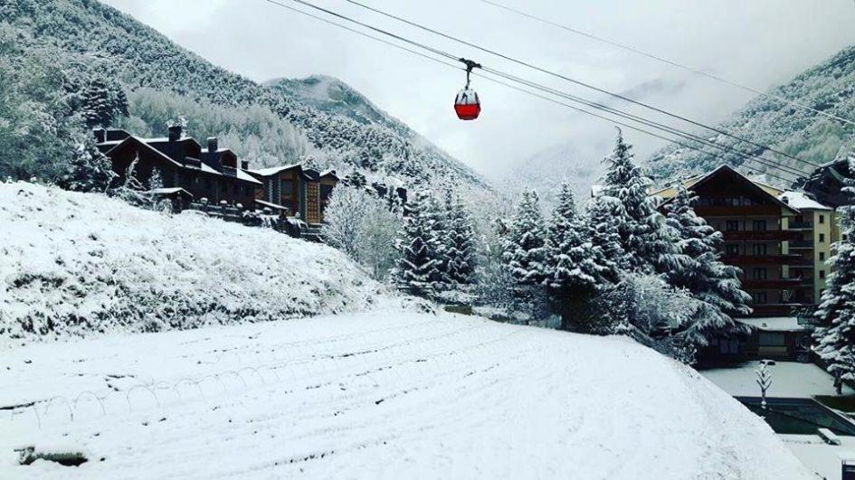 escapadas nieve con forfait