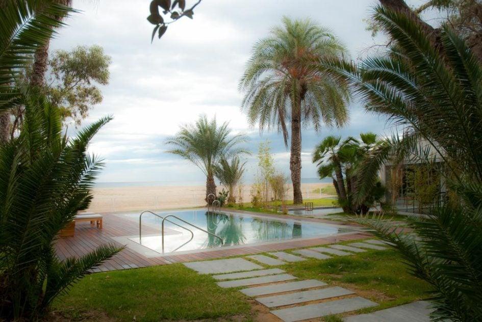 Hoteles con piscina deluxe
