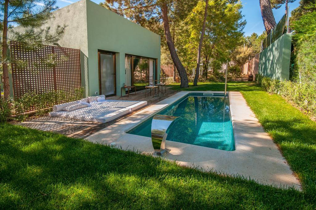 villa con piscina pinar